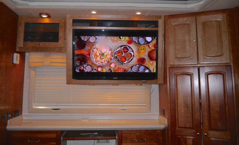 Rear Theater Cabinetry